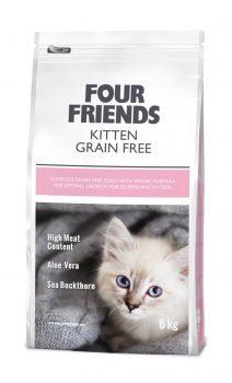 Four Friends kitten